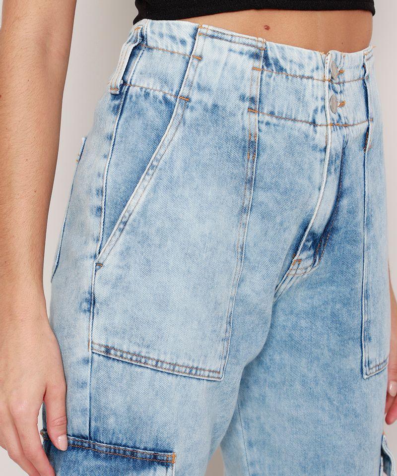 Calca-Jogger-Cargo-Jeans-Marmorizada-Cintura-Super-Alta-Azul-Claro-9988930-Azul_Claro_6