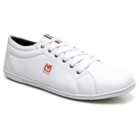sapatênis masculino sandro moscoloni power sneaker branco