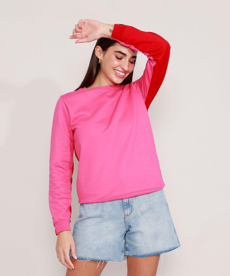 Blusao-de-Moletom-Basico-Bicolor-Decote-Redondo-Pink-9985454-Pink_1