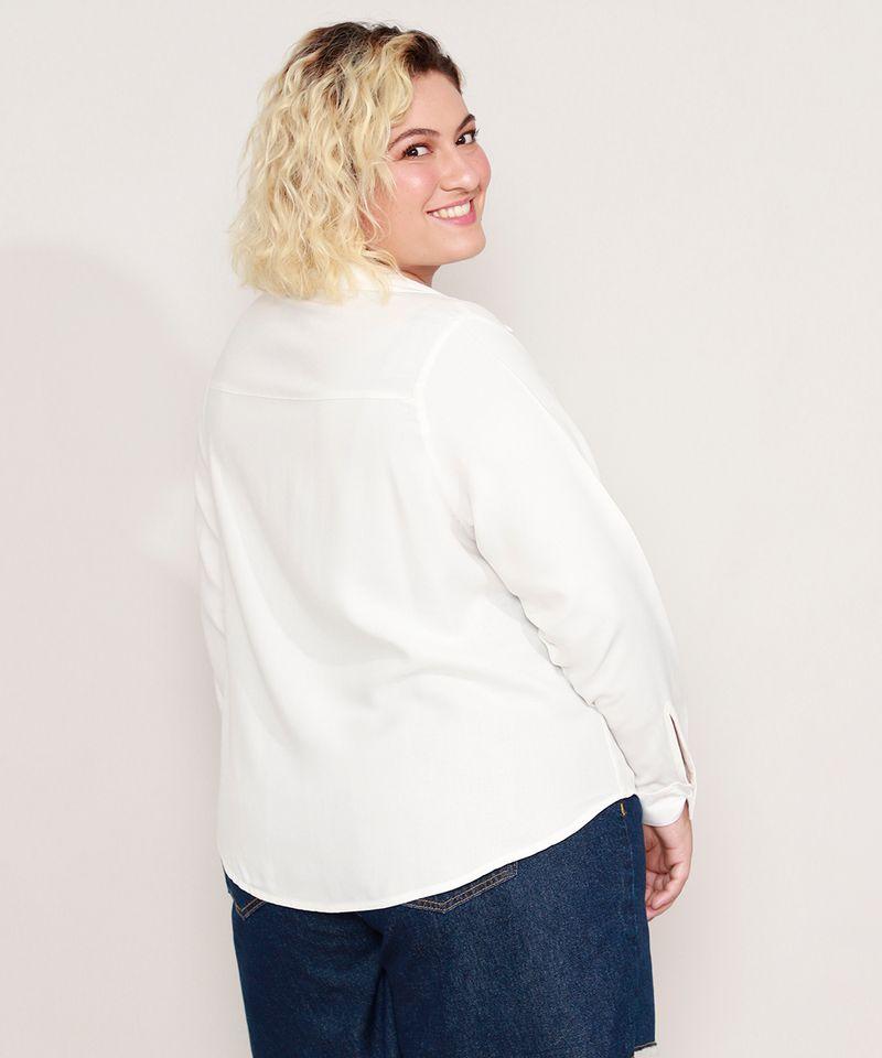 Camisa-de-Viscose-Plus-Size-com-Bolso-Manga-Longa-Off-White-9986193-Off_White_2
