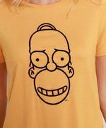 Camiseta-Homer-Simpson-Manga-Curta-Decote-Redondo-Mostarda-9981498-Mostarda_2