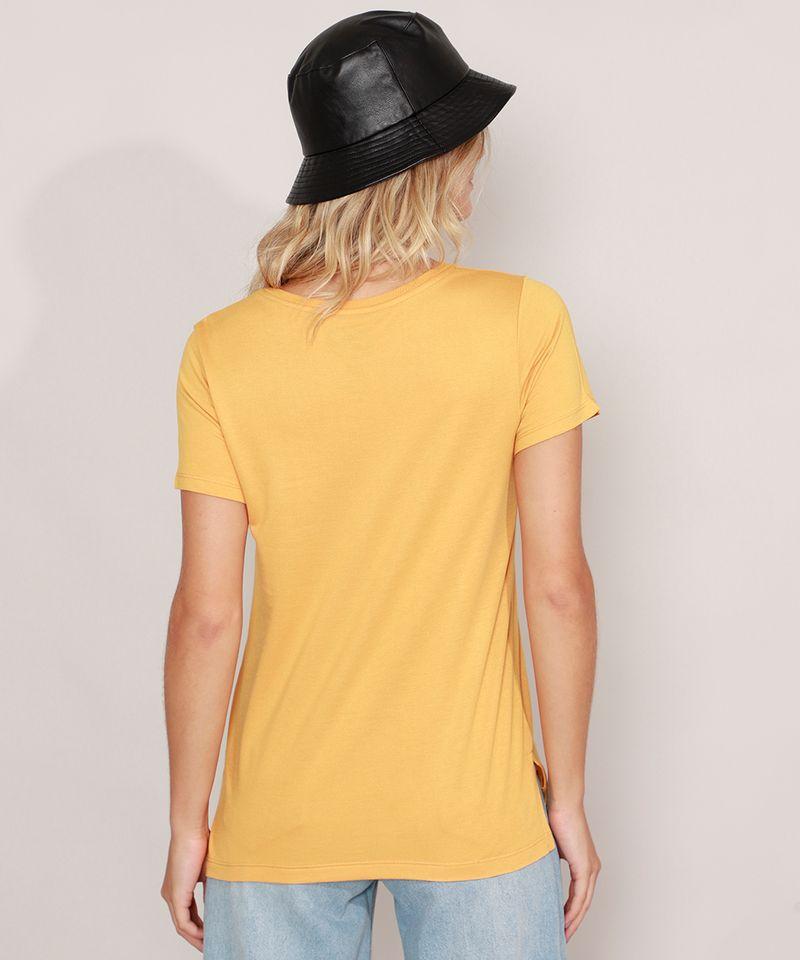 Camiseta-Homer-Simpson-Manga-Curta-Decote-Redondo-Mostarda-9981498-Mostarda_4
