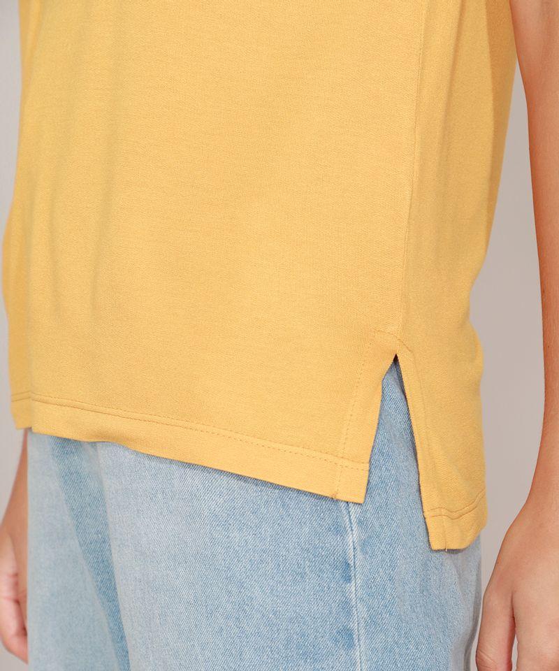 Camiseta-Homer-Simpson-Manga-Curta-Decote-Redondo-Mostarda-9981498-Mostarda_5