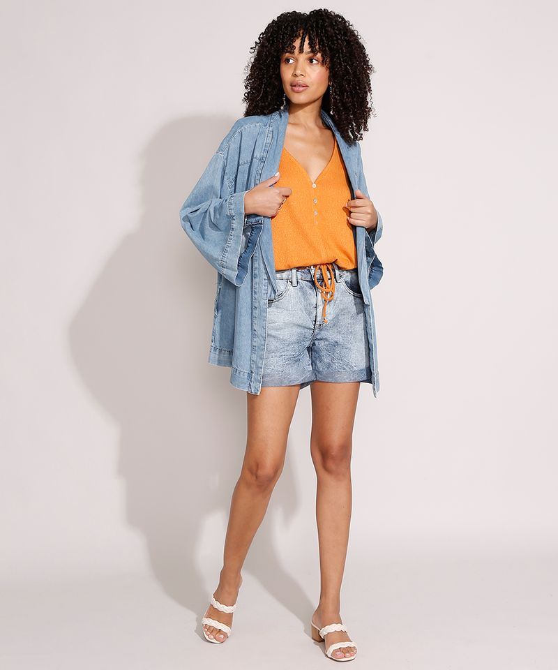 Short-Midi-Jeans-Marmorizado-com-Barra-Dobrada-e-Cinto-Cintura-Media-Azul-Claro-9992282-Azul_Claro_3