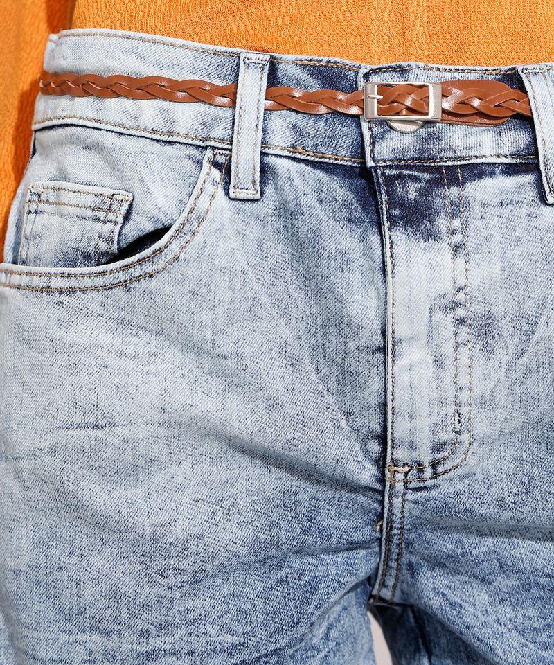 Short-Midi-Jeans-Marmorizado-com-Barra-Dobrada-e-Cinto-Cintura-Media-Azul-Claro-9992282-Azul_Claro_4