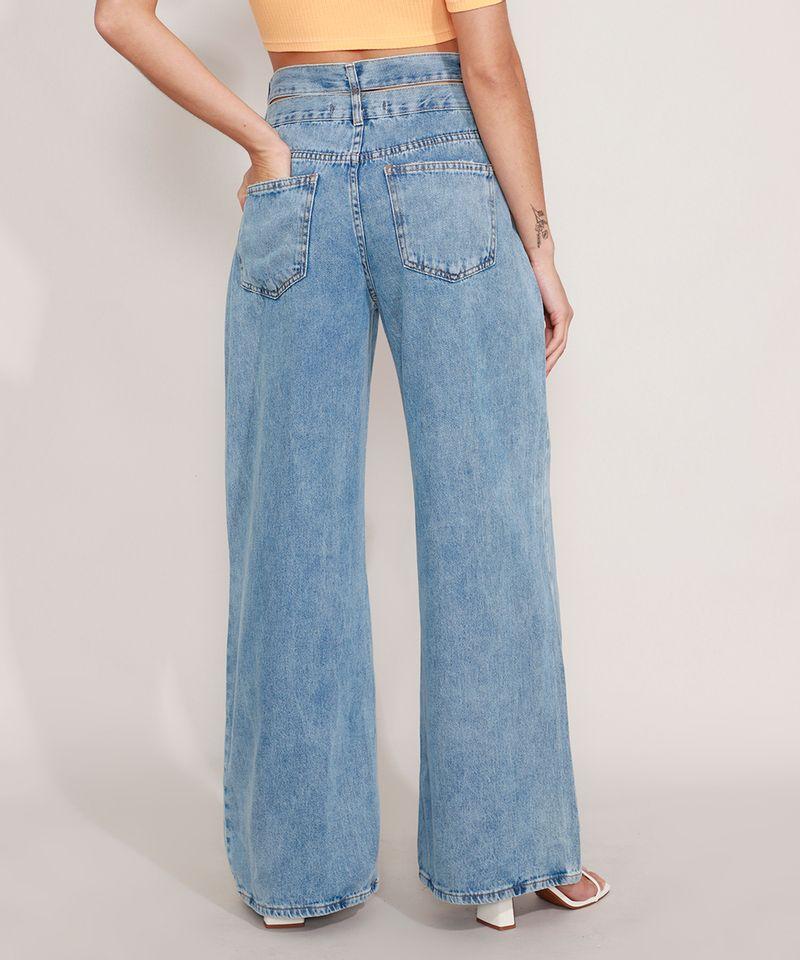 Calca-Wide-Jeans-Cintura-Super-Alta-com-Cos-Duplo-Azul-Medio-9985478-Azul_Medio_2