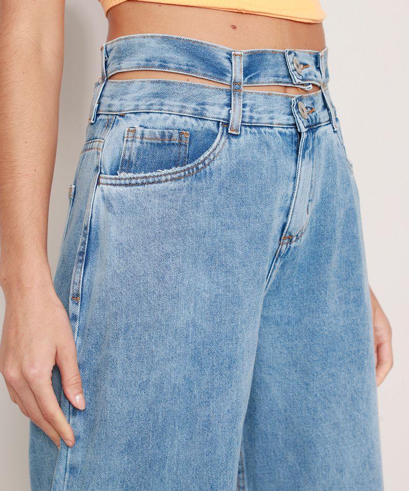 Calca-Wide-Jeans-Cintura-Super-Alta-com-Cos-Duplo-Azul-Medio-9985478-Azul_Medio_6