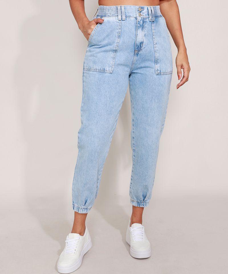 Calca-Jogger-Jeans-Cintura-Super-Alta-Azul-Claro-9988928-Azul_Claro_1