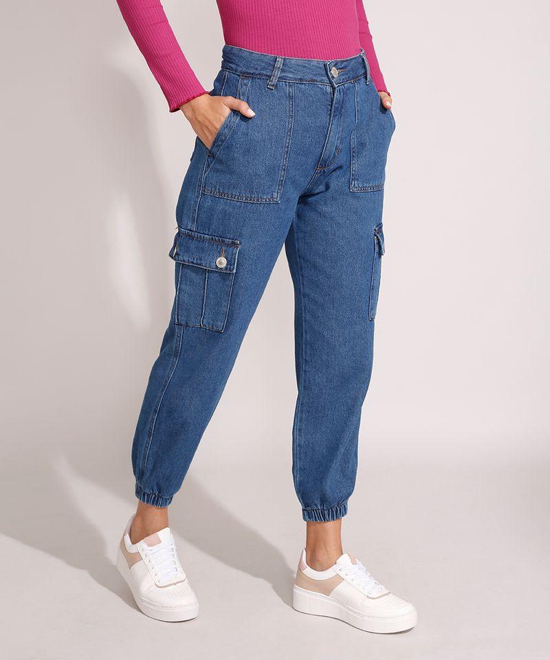 Calca-Jogger-Cargo-Jeans-Cintura-Alta-Azul-Escuro-9992664-Azul_Escuro_1