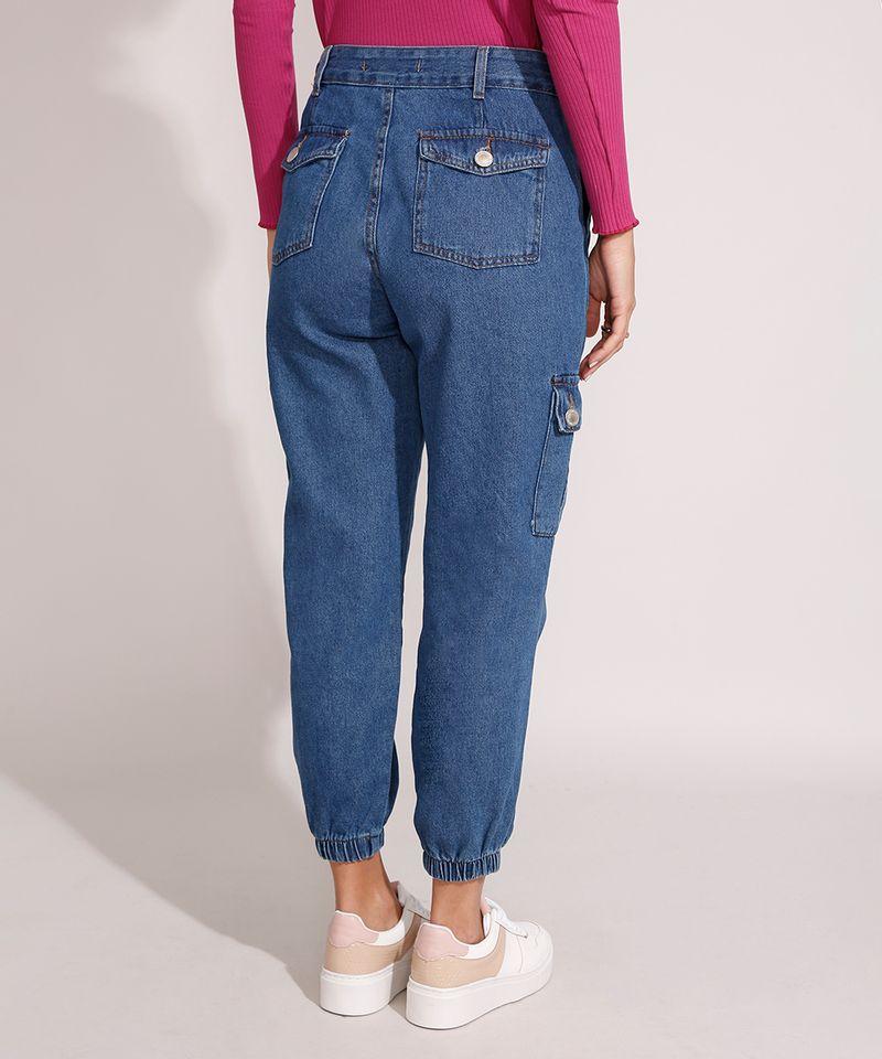 Calca-Jogger-Cargo-Jeans-Cintura-Alta-Azul-Escuro-9992664-Azul_Escuro_2