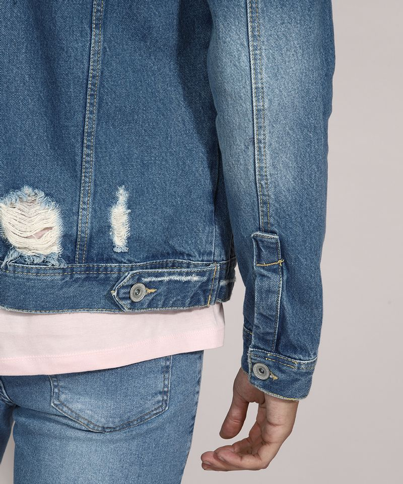 Jaqueta-Trucker-Jeans-Destroyed-com-Bolsos-Azul-Medio-9982013-Azul_Medio_4