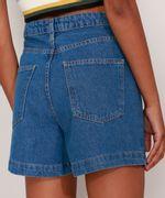 Bermuda-Jeans-Cintura-Super-Alta-com-Prega-Azul-Escuro-9991272-Azul_Escuro_2