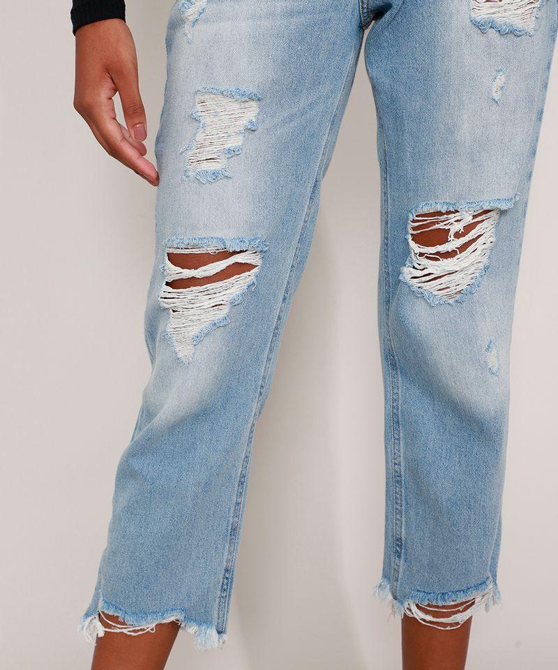 Calca-Mom-Jeans-Cropped-Destroyed-Cintura-Super-Alta-Azul-Claro-9991633-Azul_Claro_5