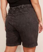 Bermuda-Jeans-Plus-Size-com-Pregas-Cintura-Alta-Mindset-Preta-9993225-Preto_2