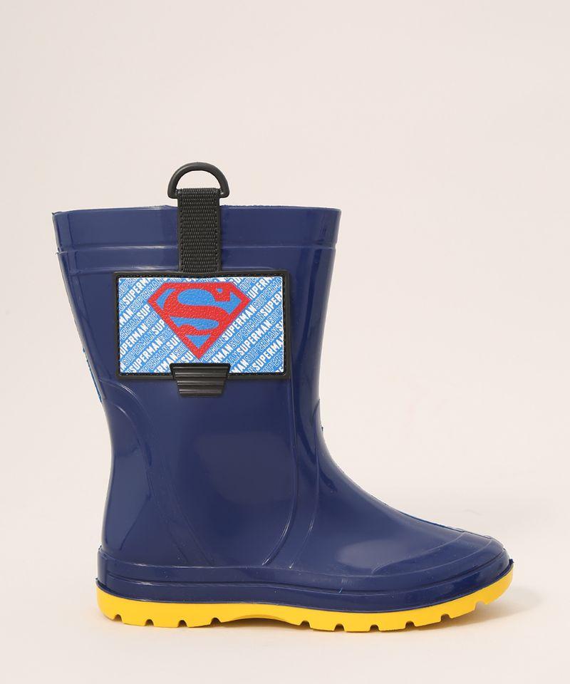 Galocha-Infantil-Super-Homem-Cano-Alto-Grendene-Azul-9986799-Azul_2