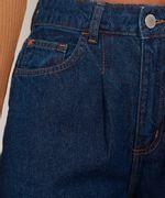 Calca-Wide-Pantalona-Jeans-com-Pences-e-Barra-a-Fio-Cintura-Super-Alta-Azul-Escuro-9992130-Azul_Escuro_4