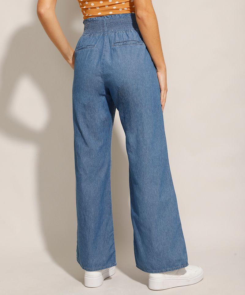 Calca-Jeans-Feminina-Pantalona-Wide-Clochard-Cintura-Alta-Alfaiatada-Azul-Medio-9985076-Azul_Medio_2
