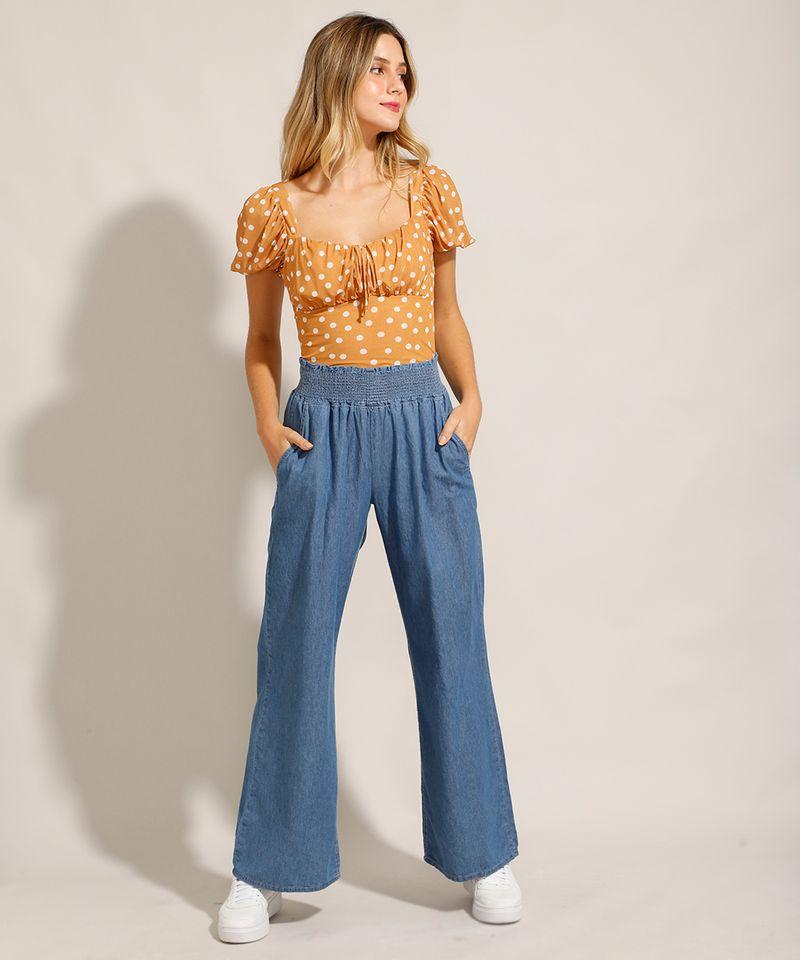 Calca-Jeans-Feminina-Pantalona-Wide-Clochard-Cintura-Alta-Alfaiatada-Azul-Medio-9985076-Azul_Medio_3