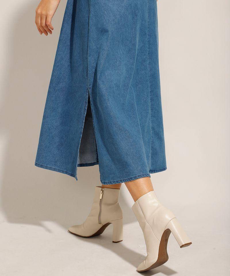 Vestido-Chemise-Jeans-Midi-com-Faixa-de-Amarrar-e-Manga-Curta-Azul-Medio-9992006-Azul_Medio_5