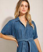 Vestido-Chemise-Jeans-Midi-com-Faixa-de-Amarrar-e-Manga-Curta-Azul-Medio-9992006-Azul_Medio_6