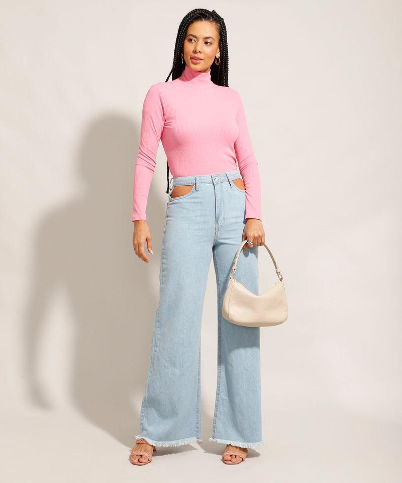 Calca-Jeans-Feminina-Wide-Pantalona-Cintura-Super-Alta-com-Vazado-Azul-Claro-9984566-Azul_Claro_3