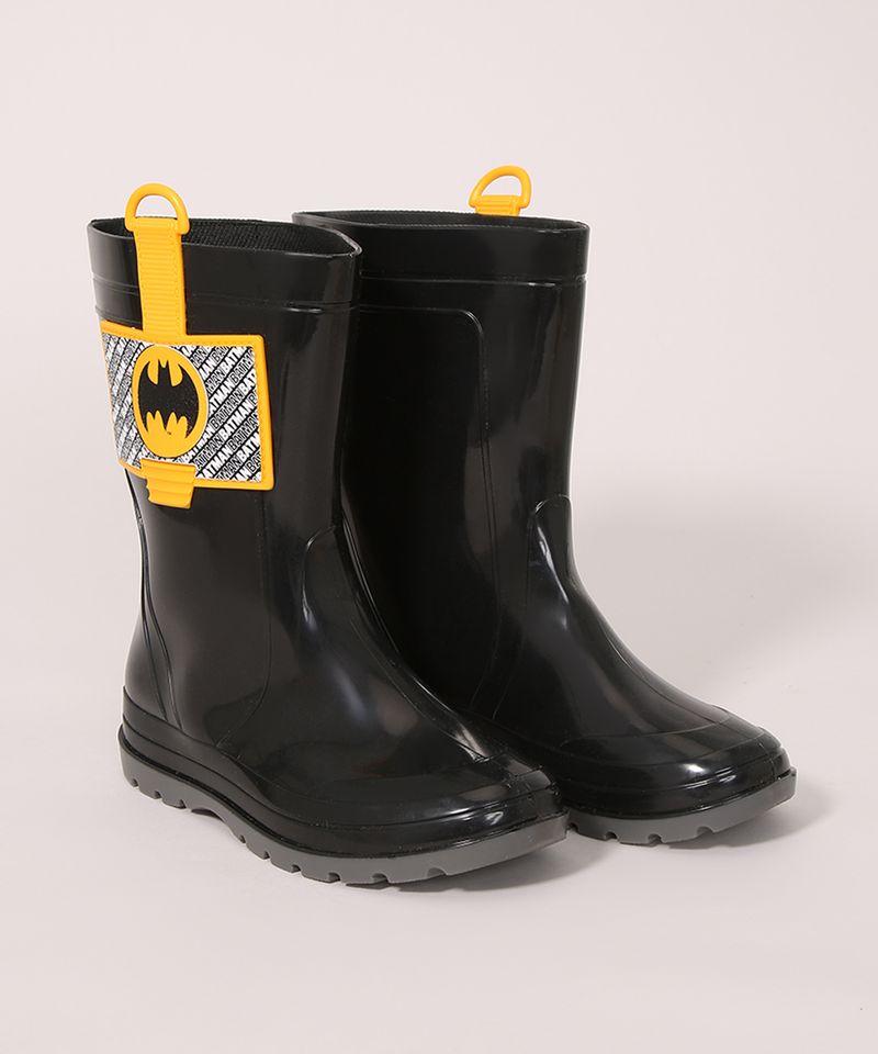 Galocha-Infantil-Batman-Cano-Alto-Grendene-Preta-9986798-Preto_5