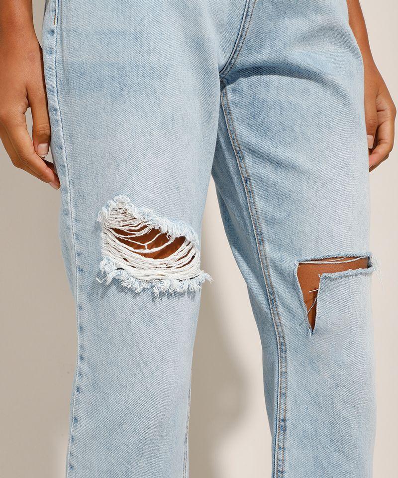 Calca-Reta-Jeans-Tal-Mae-Tal-Filha-com-Rasgos-Cintura-Super-Alta-Azul-Claro-9991737-Azul_Claro_5