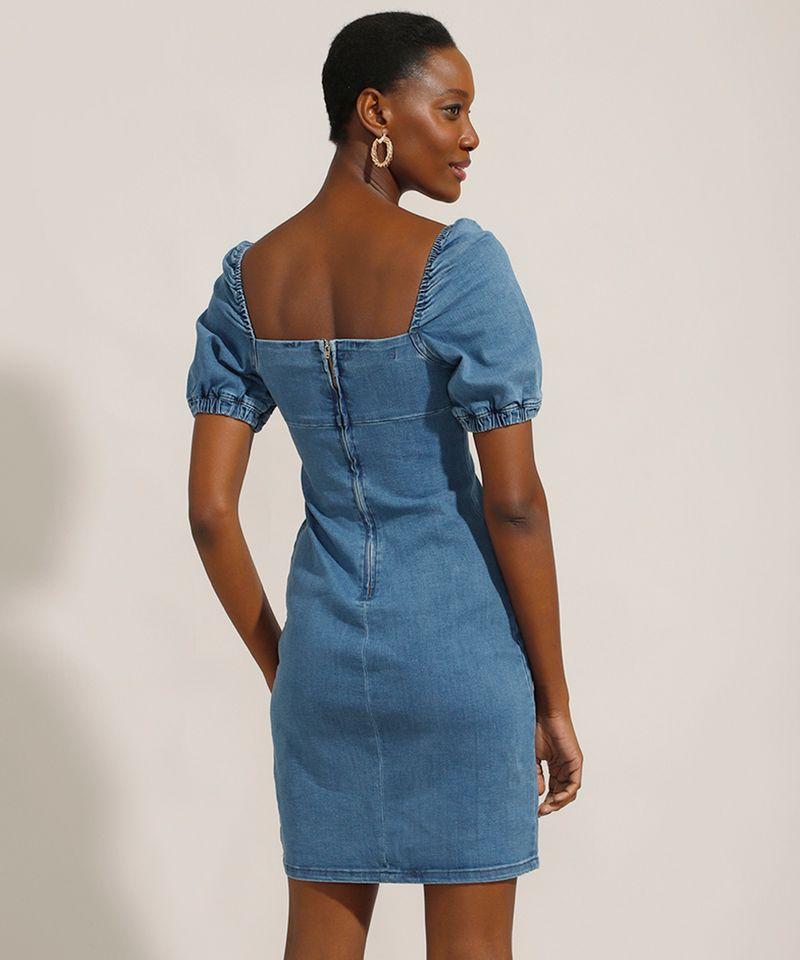 Vestido-Tal-Mae-Tal-Filha-Jeans-Curto-Manga-Bufante-Decote-Reto-Azul-Escuro-9991175-Azul_Escuro_2