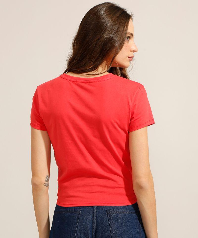 Camiseta-Cropped-de-Algodao-Basica-com-No-Manga-Curta-Decote-Redondo-Vermelha-9990323-Vermelho_2