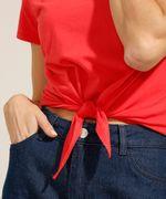 Camiseta-Cropped-de-Algodao-Basica-com-No-Manga-Curta-Decote-Redondo-Vermelha-9990323-Vermelho_5