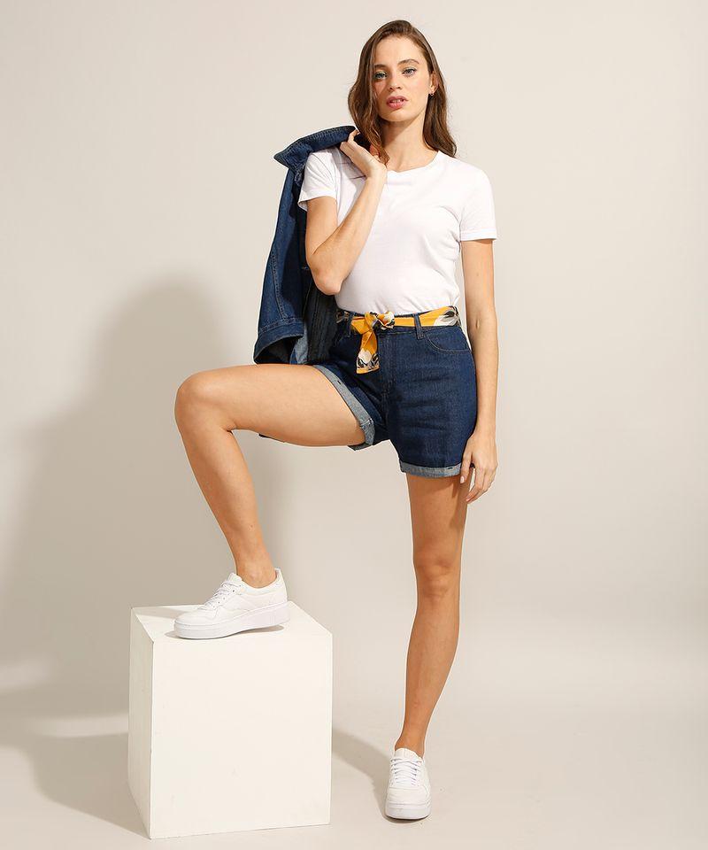 Short-Midi-Jeans-com-Barra-Dobrada-e-Faixa-para-Amarrar-Cintura-Media-Azul-Escuro-9991797-Azul_Escuro_3