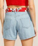 Short-Midi-Jeans-com-Faixa-para-Amarrar-Cintura-Alta-Azul-Claro-9991798-Azul_Claro_2