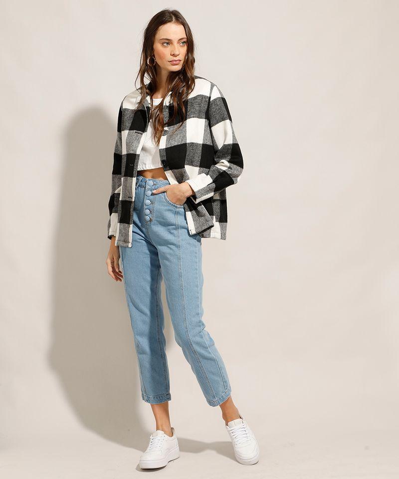 Calca-Jeans-Reta-Cintura-Super-Alta-com-Botoes-Azul-Claro-9991274-Azul_Claro_3