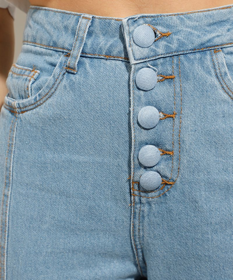Calca-Jeans-Reta-Cintura-Super-Alta-com-Botoes-Azul-Claro-9991274-Azul_Claro_5