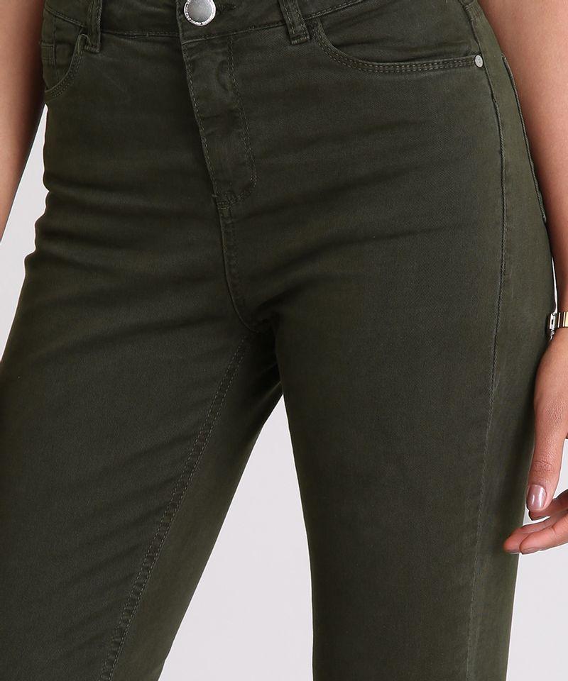 Calca-de-Sarja-Super-Skinny-Cintura-Alta-Verde-Militar-9042390-Verde_Militar_4