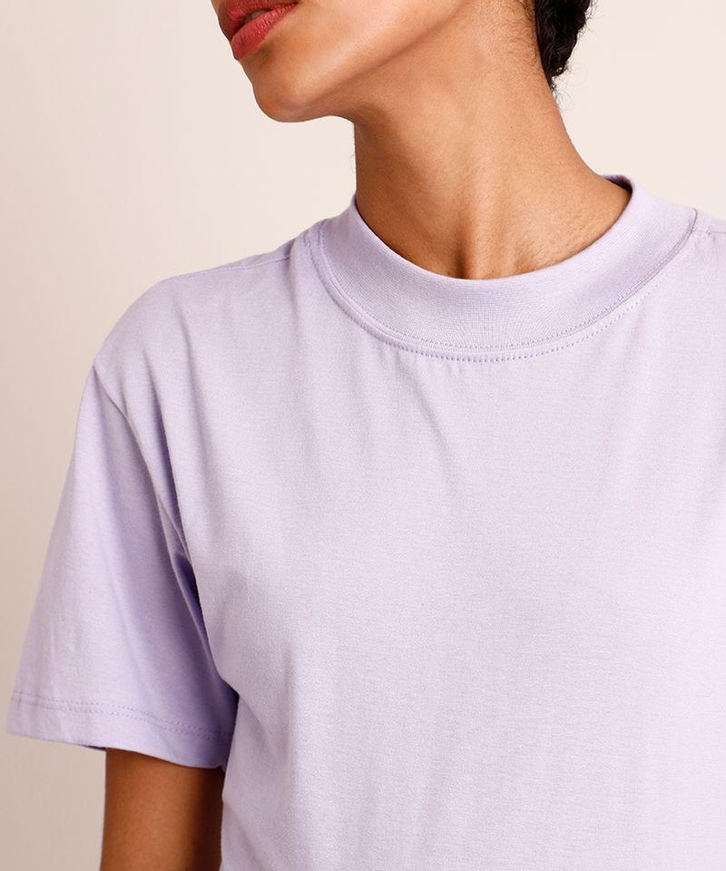 Camiseta-de-Algodao-Manga-Curta-Decote-Redondo--Lilas-1005784-Lilas_4