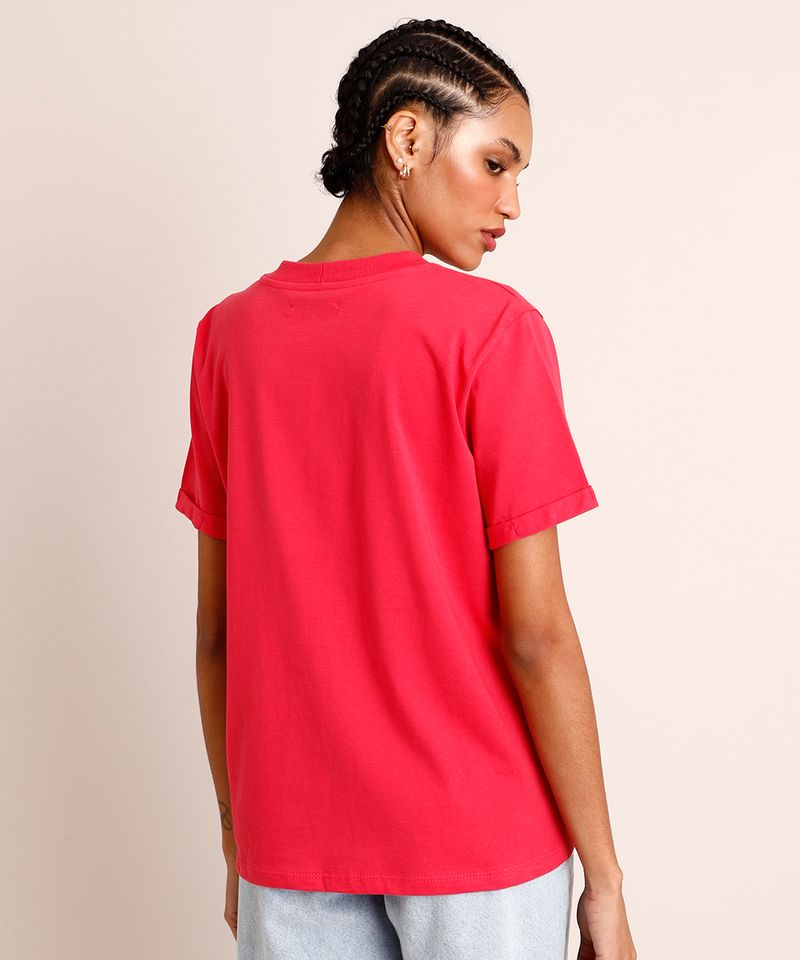 Camiseta-de-Algodao-Basica-Manga-Curta-Decote-Redondo--Pink-9980091-Pink_2