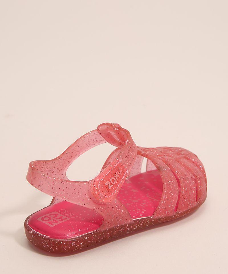 Sandalia-Infantil-Zaxynina-Encantada-com-Glitter-e-Velcro-Grendene-Rosa-1007245-Rosa_2