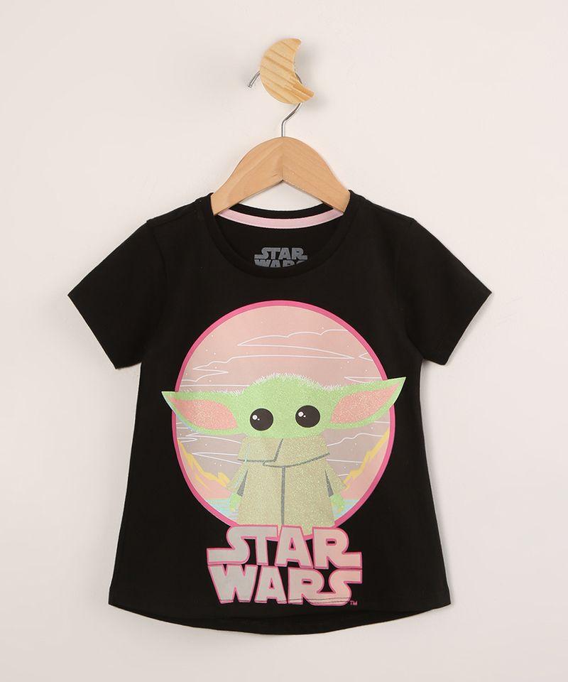 Blusa-Infantil-de-Algodao-Baby-Yoda-Star-Wars-Manga-Curta--Preta-9995040-Preto_1