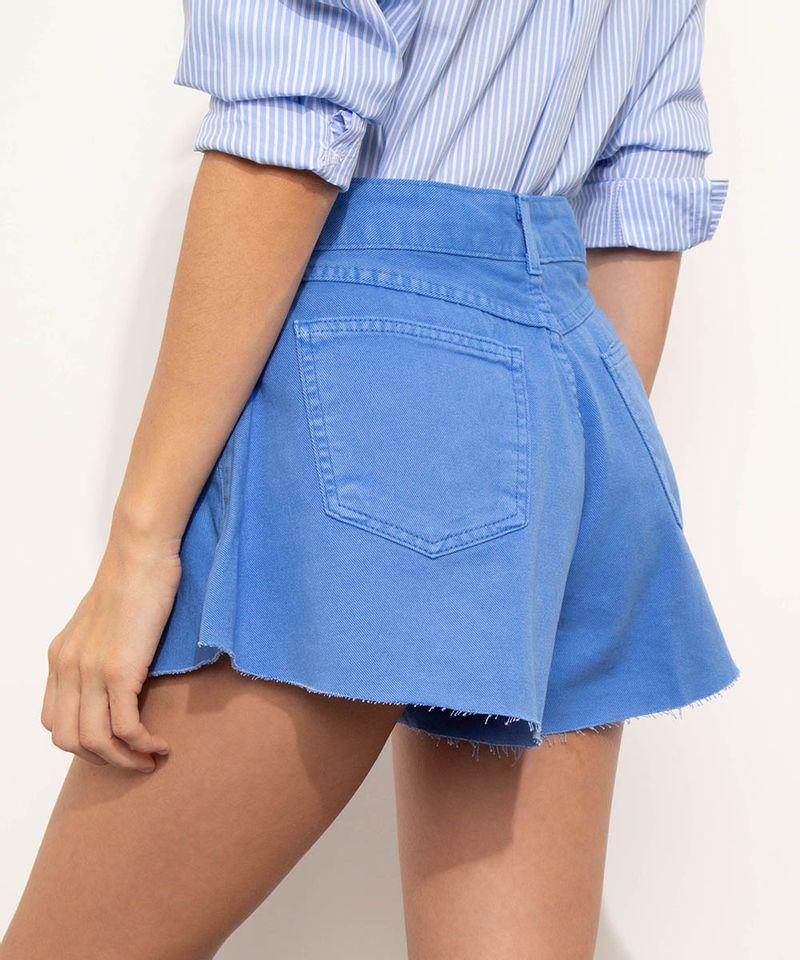 Short-de-Sarja-Feminino-Mindset-Gode-Cintura-Alta-com-Barra-a-Fio-Azul-9974831-Azul_3