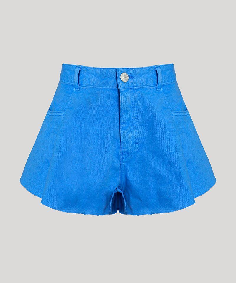 Short-de-Sarja-Feminino-Mindset-Gode-Cintura-Alta-com-Barra-a-Fio-Azul-9974831-Azul_6