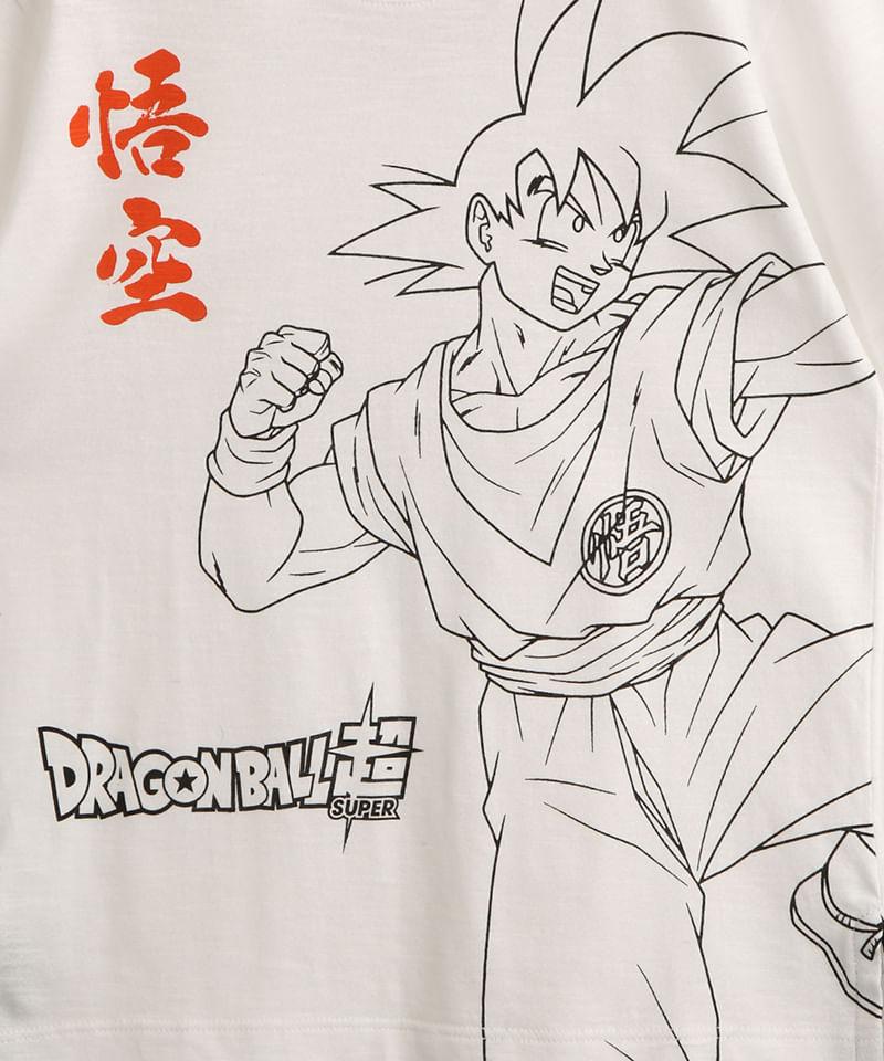 Camiseta-Infantil-de-Algodao-Goku-Dragon-Ball-Manga-Curta-Branca-1000475-Branco_2