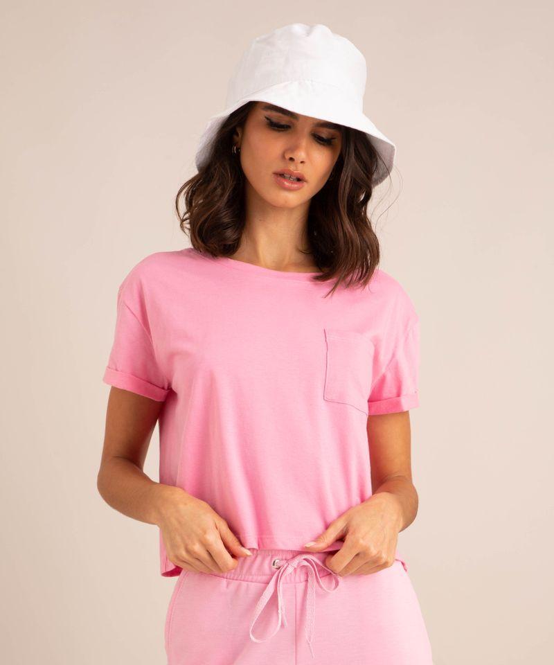 camiseta-cropped-de-algodao-basica-com-bolso-manga-curta-decote-redondo--rosa-1-9883461-Rosa_1_1