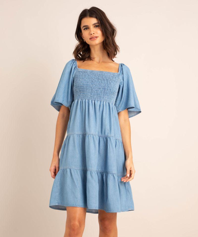 vestido-curto-jeans-com-lastex-e-recorte-manga-ampla-decote-reto-azul-medio-1007220-Azul_Medio_1
