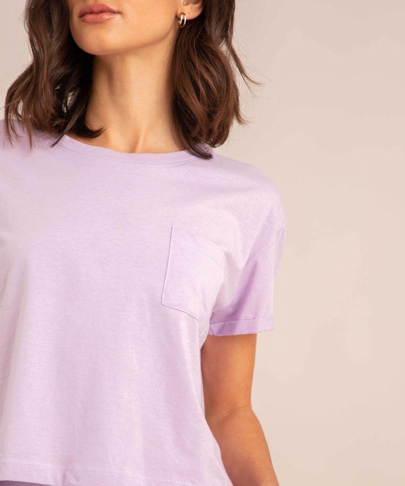conjunto-basico-de-camiseta-cropped-com-bolso-manga-curta-decote-redondo---calca-jogger-de-moletom-cintura-media--lilas-1006882-Lilas_4