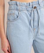 Calca-Wide-Leg--Jeans-Cintura-Super-Alta-com-Barra-Desfiada-Azul-Claro-1006560-Azul_Claro_5