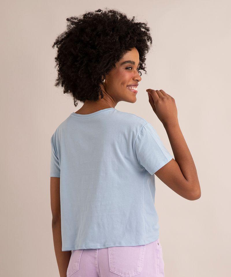 Camiseta-de-Algodao-Basica-com-No-Manga-Curta-Decote-Redondo--azul-claro-1-9883921-Azul_Claro_1_2