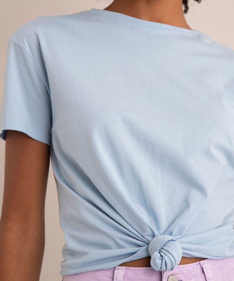 Camiseta-de-Algodao-Basica-com-No-Manga-Curta-Decote-Redondo--azul-claro-1-9883921-Azul_Claro_1_4