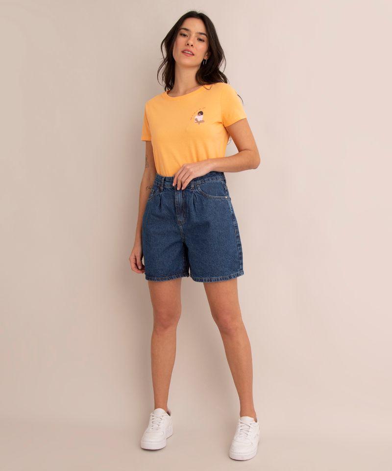 camiseta-de-algodao--foque-no-que-te-faz-bem--manga-curta-decote-redondo--laranja-1007886-Laranja_3