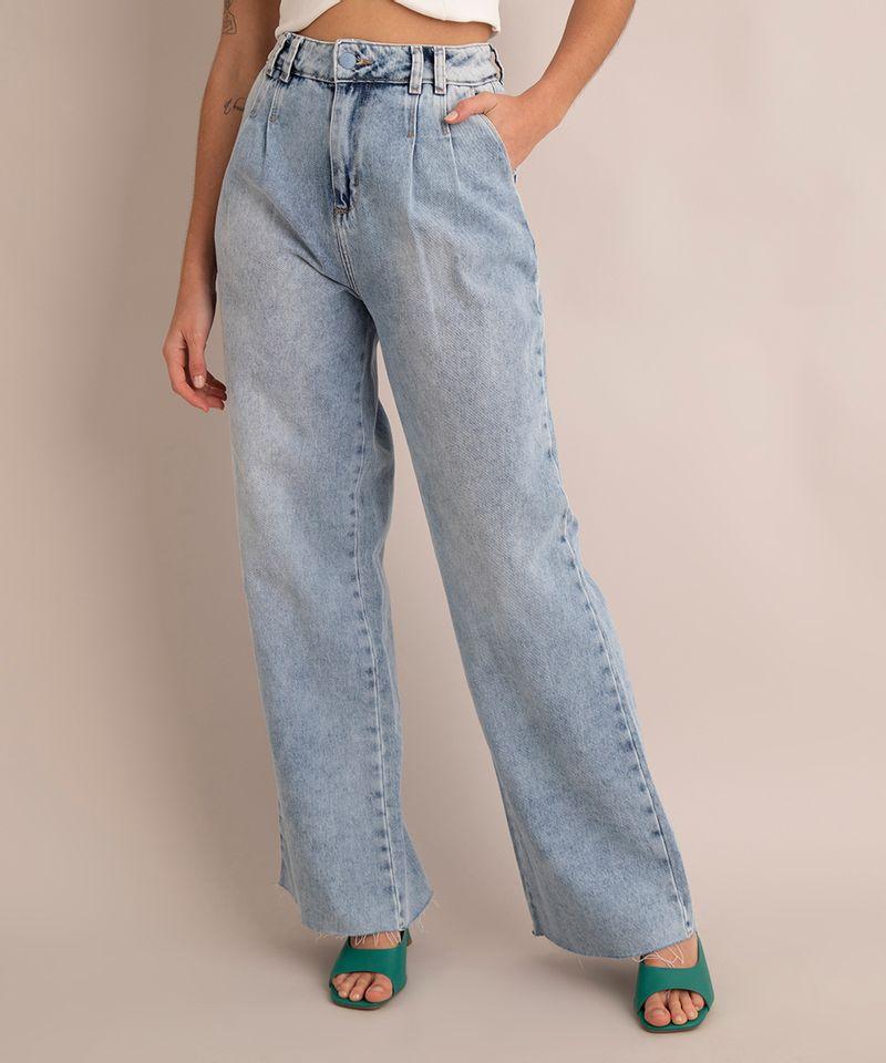 calca-wide-leg-jeans-marmorizado-com-pence-e-barra-desfiada--cintura-super-alta-sawary-azul-claro-1005776-Azul_Claro_2